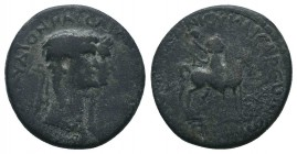 LYDIA. Mostene. Claudius, with Agrippina Minor (41-54). Ae.  Condition: Very Fine  Weight: 5.30 gr Diameter: 20 mm