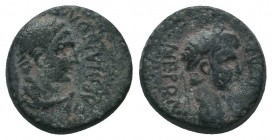 LYDIA. Sardes. Nero (54-68). Ae. Mindios, magistrate.  Condition: Very Fine  Weight: 3.70 gr Diameter: 16 mm
