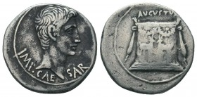 Augustus (27 BC-AD 14). AR Cistophorus,, Ephesus, c. 25 BC.  Condition: Very Fine  Weight: 11.30 gr Diameter: 25 mm