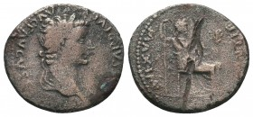 Augustus 27 BC-AD 14. Lugdunum fourree Denarius AR   Condition: Very Fine  Weight: 2.80 gr Diameter: 18 mm