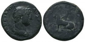Hadrian, 117-138, AE,  Condition: Very Fine  Weight: 8.10 gr Diameter: 23 mm