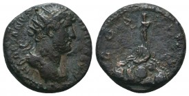 Hadrian, 117-138, AE  Condition: Very Fine  Weight: 4.40 gr Diameter: 17 mm