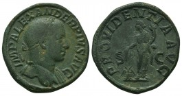 Severus Alexander (222-235 AD). AE Sestertius  Condition: Very Fine  Weight: 23.00 gr Diameter: 31 mm