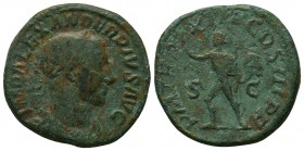 Severus Alexander (222-235 AD). AE Sestertius  Condition: Very Fine  Weight: 21.00 gr Diameter: 30 mm