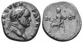 VESPASIAN (69-79). Denarius. Ar.  Condition: Very Fine  Weight: 3.30 gr Diameter: 16 mm