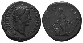 Antoninus Pius, 138-161. Denarius  Condition: Very Fine  Weight: 3.00 gr Diameter: 18 mm