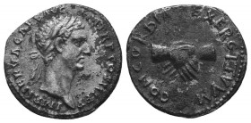 Nerva, 96-98. Denarius  Condition: Very Fine  Weight: 2.30 gr Diameter: 17 mm