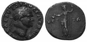 VESPASIAN (69-79). Denarius. Ar.  Condition: Very Fine  Weight: 3.40 gr Diameter: 17 mm