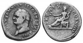 VESPASIAN (69-79). Denarius. Ar.  Condition: Very Fine  Weight: 3.00 gr Diameter: 18 mm
