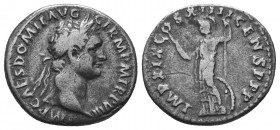 Domitian. 81-96 AD. Denarius,  Condition: Very Fine  Weight: 3.20 gr Diameter: 18 mm