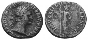 Domitian. 81-96 AD. Denarius,  Condition: Very Fine  Weight: 2.90 gr Diameter: 17 mm