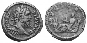 SEPTIMIUS SEVERUS (193-211). Denarius.  Condition: Very Fine  Weight: 2.90 gr Diameter: 19 mm