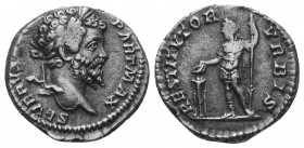 SEPTIMIUS SEVERUS (193-211). Denarius.  Condition: Very Fine  Weight: 3.30 gr Diameter: 17 mm