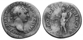 TRAJAN (98-117). Denarius.  Condition: Very Fine  Weight: 2.70 gr Diameter: 18 mm