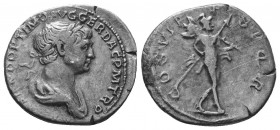TRAJAN (98-117). Denarius.  Condition: Very Fine  Weight: 3.10 gr Diameter: 19 mm