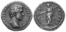 Antoninus Pius, 138-161. Denarius  Condition: Very Fine  Weight: 3.40 gr Diameter: 18 mm