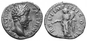 Lucius Verus, 161-169. Denarius   Condition: Very Fine  Weight: 3.10 gr Diameter: 18 mm