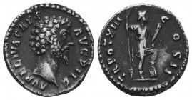 Lucius Verus, 161-169. Denarius   Condition: Very Fine  Weight: 3.30 gr Diameter: 18 mm
