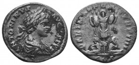Caracalla, 198-217. Denarius  Condition: Very Fine  Weight: 2.70 gr Diameter: 18 mm