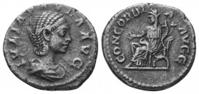 JULIA PAULA (219 - 220) Denarius, Ar  Condition: Very Fine  Weight: 2.80 gr Diameter: 18 mm