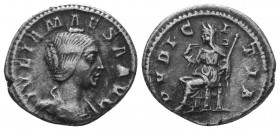 JULIA MAESA (Died 223). Denarius.   Condition: Very Fine  Weight: 3.00 gr Diameter: 18 mm