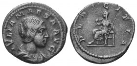 JULIA MAESA (Died 223). Denarius.   Condition: Very Fine  Weight: 3.30 gr Diameter: 18 mm