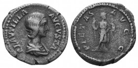 Plautilla, 202-205. Denarius  Condition: Very Fine  Weight: 3.20 gr Diameter: 18 mm