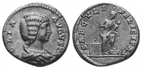 Julia Domna 193-217, Denarius,   Condition: Very Fine  Weight: 3.40 gr Diameter: 17 mm