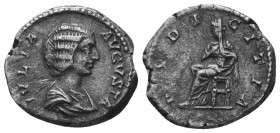 Julia Domna 193-217, Denarius,   Condition: Very Fine  Weight: 3.30 gr Diameter: 18 mm