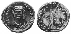 Julia Domna 193-217, Denarius,   Condition: Very Fine  Weight: 3.40 gr Diameter: 18 mm