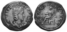 Otacilia Severa (244-249 AD). AR Antoninianus   Condition: Very Fine  Weight: 4.00 gr Diameter: 23 mm