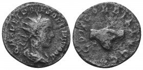 Herennius Etruscus Caesar. AR Antoninianus  Condition: Very Fine  Weight: 2.90 gr Diameter: 21 mm