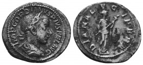 Gordian III. Silver , AD 238-244. Rome,   Condition: Very Fine  Weight: 3.00 gr Diameter: 22 mm