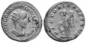 Gordian III. Silver , AD 238-244. Rome,   Condition: Very Fine  Weight: 4.30 gr Diameter: 21 mm