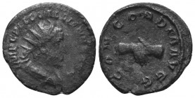 Gallienus (253-268 AD). AR Antoninianus  Condition: Very Fine  Weight: 3.30 gr Diameter: 21 mm