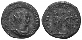 Valerianus I (253-260 AD). AR Antoninianus  Condition: Very Fine  Weight: 4.00 gr Diameter: 19 mm