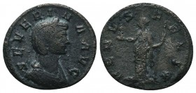 Severina Silvered Ӕ Antoninianus. AD 270-275.   Condition: Very Fine  Weight: 2.00 gr Diameter: 18 mm