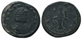 Salonina (254-268 AD). Ae Antoninianus   Condition: Very Fine  Weight: 4.50 gr Diameter: 20 mm