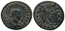 Numerianus (283-284 AD). AE Antoninianus  Condition: Very Fine  Weight: 4.10 gr Diameter: 22 mm