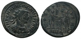 Carinus, as Caesar (282-283 AD). AE silvered Antoninianus  Condition: Very Fine  Weight: 3.40 gr Diameter: 21 mm