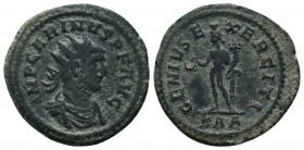 Carinus, as Caesar (282-283 AD). AE silvered Antoninianus  Condition: Very Fine  Weight: 4.50 gr Diameter: 22 mm