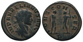 Aurelianus (270-275 AD). AE Antoninianus   Condition: Very Fine  Weight: 3.20 gr Diameter: 21 mm