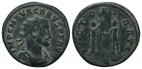 Carus (282-283 AD). AE Antoninianus (  Condition: Very Fine  Weight: 3.40 gr Diameter: 22 mm