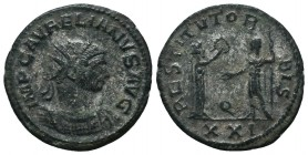 Aurelianus (270-275 AD). AE Antoninianus   Condition: Very Fine  Weight: 4.00 gr Diameter: 22 mm