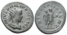 Philippus I., 244-249. Ar Anton  Condition: Very Fine  Weight: 3.30 gr Diameter: 23 mm