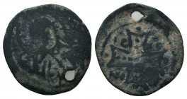 Crusaders, Edessa??? Uncertain. Æ   Condition: Very Fine  Weight:2.20 gr Diameter: 20 mm