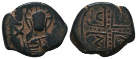 Crusaders, Edessa??? Uncertain. Æ   Condition: Very Fine  Weight: 9.50 gr Diameter: 25 mm