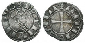 Crusaders Ar, 1101-1112. Bohemon III Denier,   Condition: Very Fine  Weight: 0.80 gr Diameter: 18 mm