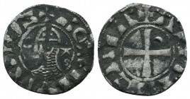 Crusaders Ar, 1101-1112. Bohemon III Denier,   Condition: Very Fine  Weight: 0.80 gr Diameter: 17 mm