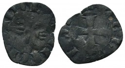 Crusaders Ar, 1101-1112. Denier,  Condition: Very Fine  Weight: 0.60 gr Diameter: 18 mm